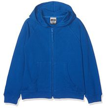 James & Nicholson Jungen Sweatshirt Hooded Jacket Junior, Gr. XX-Large (Herstellergröße: XXL (158/164)), Blau (royal)