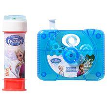 Seifenblasen-Kamera Die Eiskönigin blau