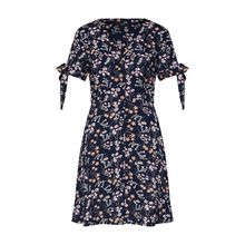 VERO MODA Kleid VMLOTUS Jerseykleider blau Damen