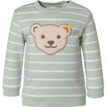 STEIFF Sweatshirt mint / mischfarben / weiß