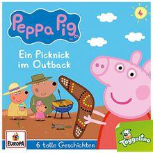 CD Peppa Pig 4 - Ein Picknick im Outback Hörbuch
