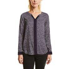 Cecil Damen Bluse 340684, Violett (Dark Purple 31085), Medium
