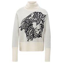 Pullover aus Kaschmir mit Jacquard-Muster