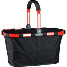 reisenthel Einkaufstasche carrybag frame Red/Black (22 Liter)