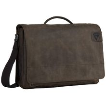 Strellson Notebooktasche / Tablet Richmond Briefbag L Dark Brown