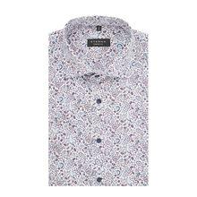Comfort Fit Business-Hemd aus Baumwolle mit kurzem Arm