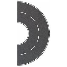 Busch Modelleisenbahn Straßenkurve - Spur H0