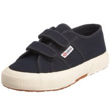 Superga 2750 Jvel Classic, Unisex-Kinder Sneakers, Blau (933), 35 EU (2.5 Kinder UK)