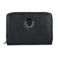 MANDARINA DUCK Geldbörse Mellow Zip 14 cm schwarz Damen