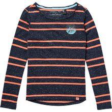 O'NEILL Shirt 'LG MOUNTAIN GAZE L/SLV T-SHIRT' dunkelblau / koralle