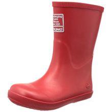 Viking Classic Indie, Unisex-Kinder Langschaft Gummistiefel, Rot (10), 21 EU (4.5 Kinder UK)