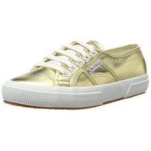 Superga 2750 Cotmetu, Damen Sneakers, Gold (174), 40 EU (7.5 Damen UK)