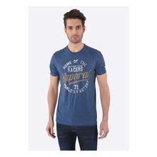 Kaporal T-Shirt Drone Blueus mit coolem Aufdruck T-Shirts blau Herren