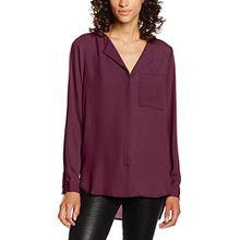 SELECTED FEMME Damen Bluse Sfdynella LS Shirt Noos, Rot (Mauve Wine Mauve Wine), 36 (Herstellergröße:38)
