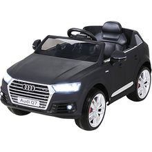 Kinder Elektroauto Audi Q7 SUV 12V, schwarz