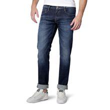 MUSTANG OREGON Taperd Jeans - Dark Rinse Used