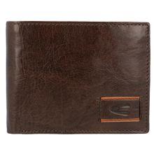 CAMEL ACTIVE Geldbörse 'Panama' aus Leder, 12,5 cm dunkelbraun