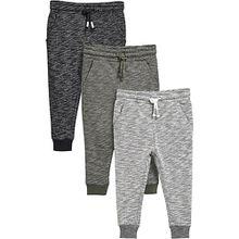 Jogginghosen 3er Pack  grau Jungen Baby