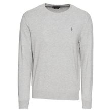 POLO RALPH LAUREN Pullover 'LS SF CN PP-LONG SLEEVE-SWEATER' grau