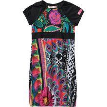 Desigual Kleid mischfarben / schwarz