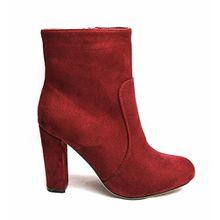 Generic ,  Damen Chelsea Boots , rot - burgunderrot - Größe: 38