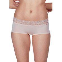 Skiny Skiny Damen Pant Bella mit floraler Spitze