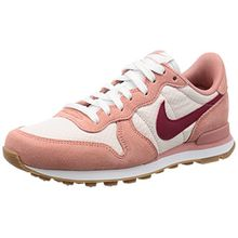 Nike Damen Internationalist Sneaker, Rot (Red Stardust/Noble Red-Silt Red-Gum Medium), 41 EU