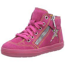 Richter Kinderschuhe ILVA, Mädchen Hohe Sneakers, Pink (Fuchsia 3501), 35 EU