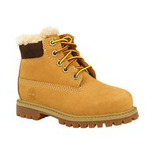 Timberland Unisex-Kinder 6 in Classic Boot Klassische Stiefel, Beige (Wheat Waterbuck 231), 26 EU