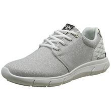 TOM TAILOR Damen 2791702 Sneaker, Silber (Silver), 42 EU