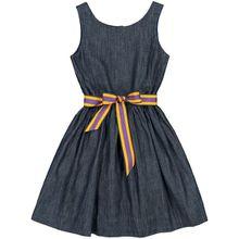 Polo Ralph Lauren Mädchen-Jeanskleid - Blau (92, 98, 104, 110, 116, 122, 128, 140, 152, 164, 176)