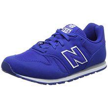 New Balance Unisex-Kinder Kj373y Sneaker, Blau (Blue), 35.5 EU