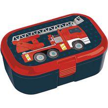 Brotdose Feuerwehr blau/rot