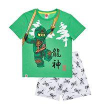Lego Ninjago Jungen Shorty-Pyjama - grün - 128