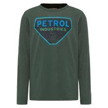 Petrol Industries LONGSLEEVE türkis / grasgrün