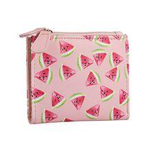 SIX Sommer Damen Portemonnaie, Geldbeutel, Wassermelonen, pink, rosa (703-428)