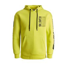 JACK & JONES Neon Sweatshirt Herren Gelb