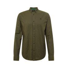 SCOTCH & SODA Hemd 'Classic oxford shirt' khaki / schwarz