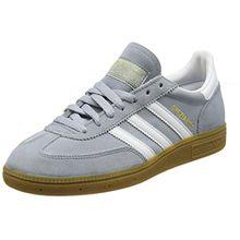 adidas Unisex-Erwachsene Spezial Sneaker, Grau (Light Grey/FTWR White/Gold Met), 46 2/3 EU