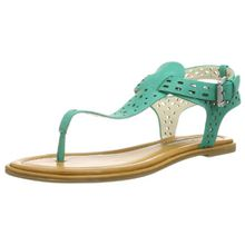 Buffalo London 313-4890 LEATHER PU 150558 Damen Sandalen, Grün (GREEN 02), EU 40
