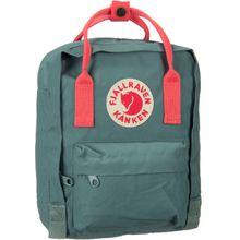 Fjällräven Rucksack / Daypack Kanken Mini Frost Green/Peach Pink (7 Liter)