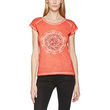 Blue Seven Damen Da T-Shirt, Rosa (Flamingo ORIG 233), Medium