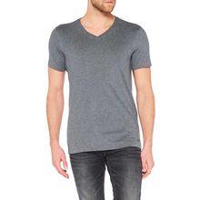 Colorado Joaquim - V-Neck T-Shirt - Dark Grey Mel