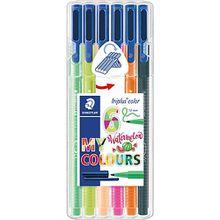 Staedtler Filzstifte triplus color Box My colours design - Wassermelone, 6 Farben
