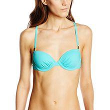 Skiny Damen Bikinioberteile Ocean Love Schalen BH, Gr. 80C, Türkis (caribi 5874)