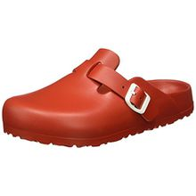 BIRKENSTOCK Classic Boston Eva, Damen Clogs, Rot (Red), 36 EU