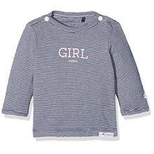 Noppies Baby-Mädchen Langarmshirt G Tee LS Nervi-67370, Blau (Navy C166), 50