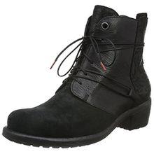 Think! Damen Liab Biker Boots, Schwarz (SZ/Kombi 09), 38 EU
