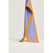 CLOSED Tuch aus Crêpe de Chine violet sky
