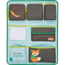 Auto-Rückenlehnentasche 4kids Wrap-to-Go Little Tree, Fox blau